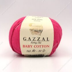 Пряжа Gazzal Baby Cotton малиновый 3415