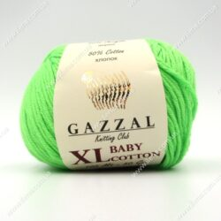 Пряжа Gazzal Baby Cotton XL салатовый 3427XL