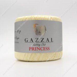 Пряжа Gazzal PRINCESS молочный 3001