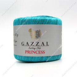 Пряжа Gazzal PRINCESS бирюза 3007