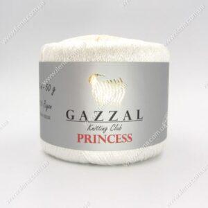 Пряжа Gazzal PRINCESS белый 3009