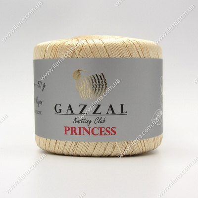 Пряжа Gazzal PRINCESS бежевый 3016