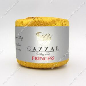 Пряжа Gazzal PRINCESS золото 3018