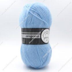 Пряжа Madame Tricote Angora голубой 012