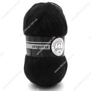 Пряжа Madame Tricote Angora черный 999