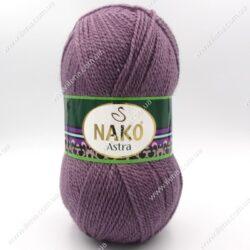 Пряжа Nako Astra сливовый 6684