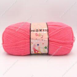 Пряжа Nako Bebe 100 ярко-розовый 236