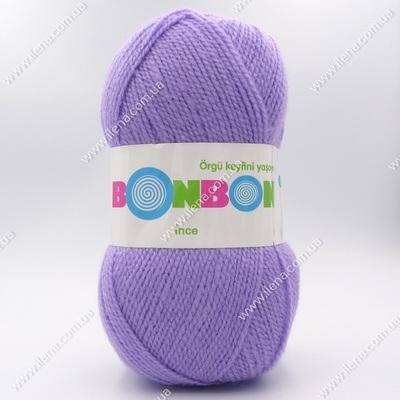 Пряжа Nako Bonbon Ince сиреневый 98205