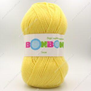 Пряжа Nako Bonbon Ince светло-желтый 98210