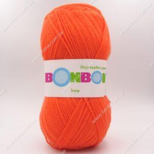 Пряжа Nako Bonbon Ince оранжевый 98212