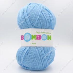 Пряжа Nako Bonbon Ince голубой 98231