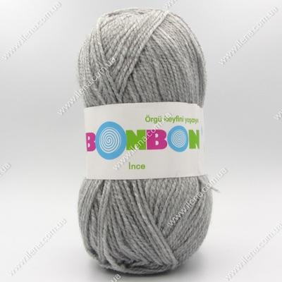 Пряжа Nako Bonbon Ince серый 98233