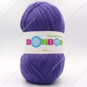 Пряжа Nako Bonbon Ince сиреневый 98241
