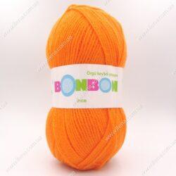 Пряжа Nako Bonbon Ince оранжевый 98323