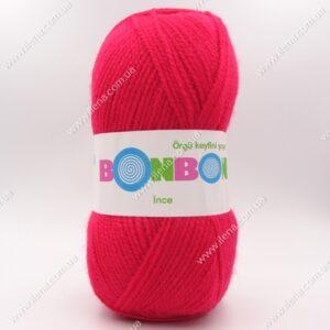 Пряжа Nako Bonbon Ince малина 98399