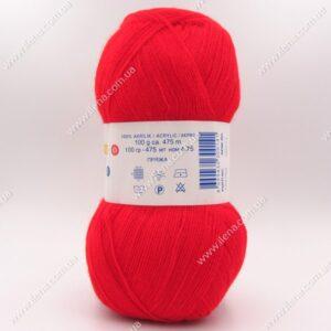 Пряжа Nako Bonbon Kristal красный 98211