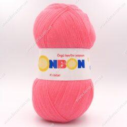 Пряжа Nako Bonbon Kristal коралловый 98230