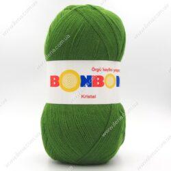 Пряжа Nako Bonbon Kristal зеленый 98235