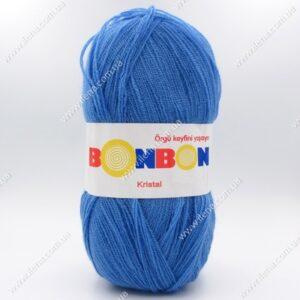 Пряжа Nako Bonbon Kristal голубой 98236