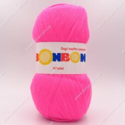 Пряжа Nako Bonbon Kristal розовый 98240