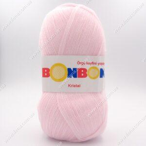Пряжа Nako Bonbon Kristal нежно-розовый 98331