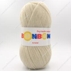 Пряжа Nako Bonbon Kristal светлый беж 98333