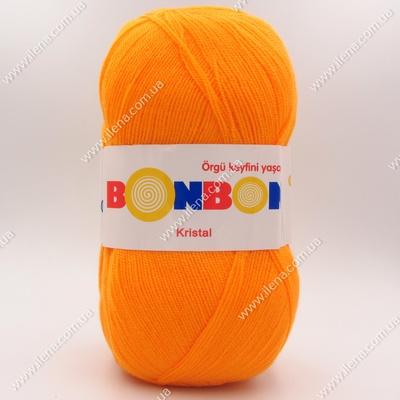 Пряжа Nako Bonbon Kristal оранжевый 98336