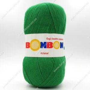 Пряжа Nako Bonbon Kristal зеленый 98337