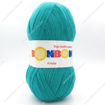 Пряжа Nako Bonbon Kristal бирюза 98394