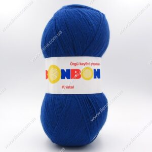 Пряжа Nako Bonbon Kristal синий 98488