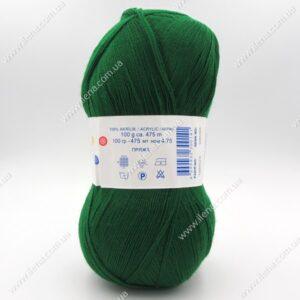 Пряжа Nako Bonbon Kristal зеленый 98596
