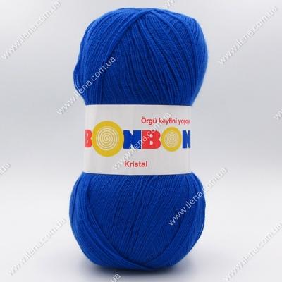 Пряжа Nako Bonbon Kristal синий 98818