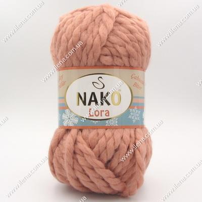 Пряжа Nako Lora пудра 11637