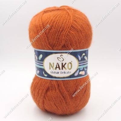 Пряжа Nako Mohair Delicate терракотовый 6136