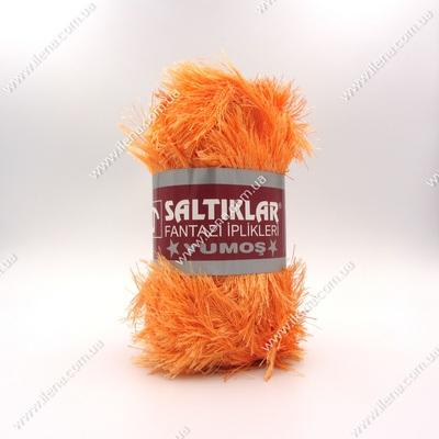 Пряжа Травка Saltikar Yumos оранжевый 18