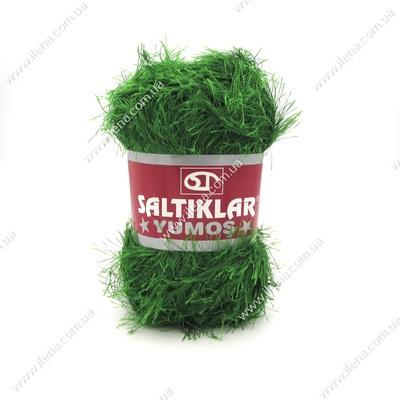 Пряжа Травка Saltikar Yumos зеленый 41