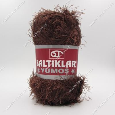 Пряжа Травка Saltikar Yumos шоколад 93