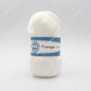 Пряжа Madame Tricote Timya белый 0000