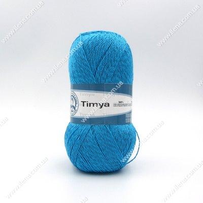 Пряжа Madame Tricote Timya голубая бирюза 5913
