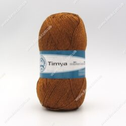 Пряжа Madame Tricote Timya коричневый 5918