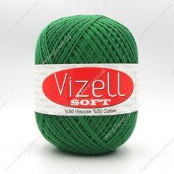 Пряжа Vizell Soft зеленый 393