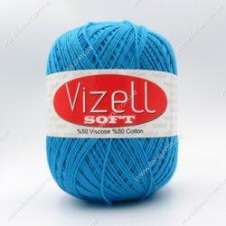 Пряжа Vizell Soft бирюза 511