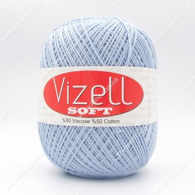 Пряжа Vizell Soft голубой 540