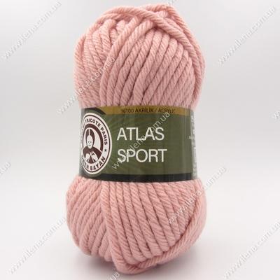 Пряжа Madame Tricote Atlas Sport пудра 001