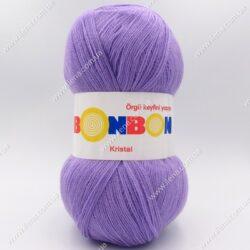 Пряжа Nako Bonbon Kristal сиреневый 98205