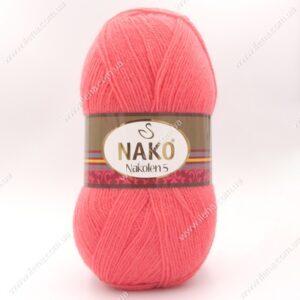 Пряжа Nako Nakolen 5 коралловый 11200