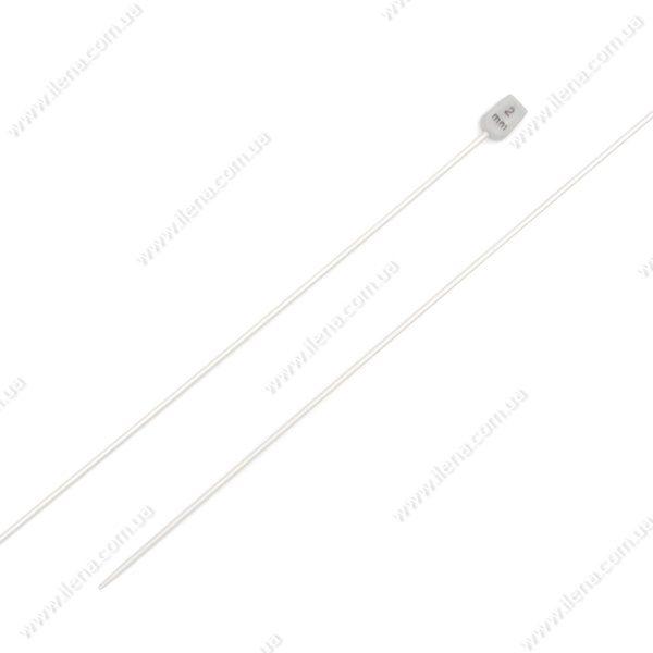 Спицы прямые для вязания 2 мм 35 см