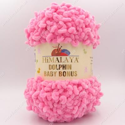 Пряжа плюшевая Himalaya Dolphin Baby Bonus розовый 82309