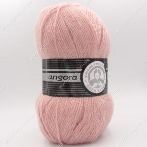 Пряжа Madame Tricote Angora пудра 001