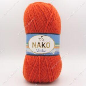 Пряжа Nako Alaska терракотовый 7127